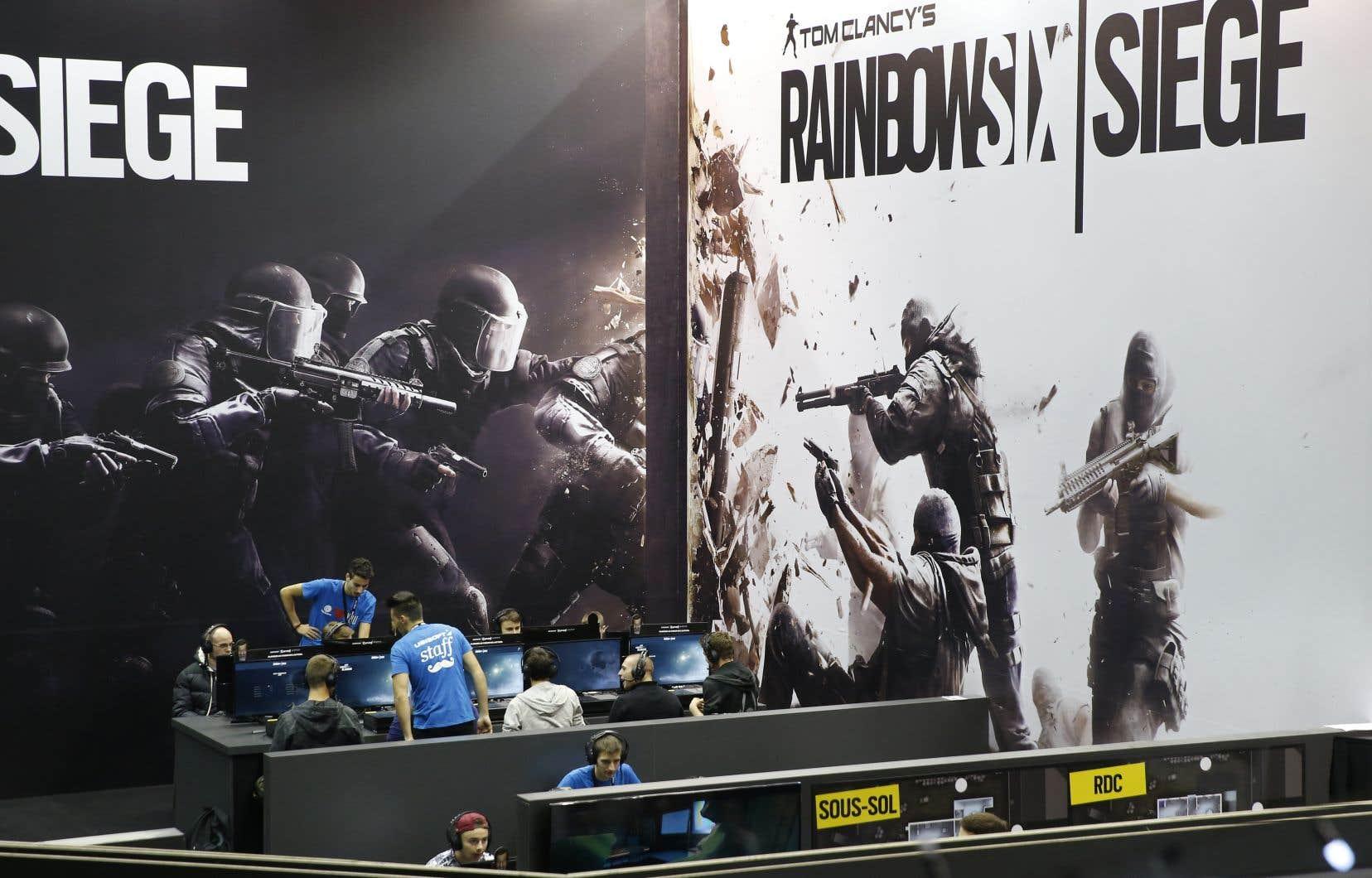 Ubisoft considère que le jeu <em>Area F2</em>est un clone de <em>Tom Clancy's Rainbow Six: Siege</em>, un célèbre jeu de tir (FPS) disponible depuis 2015 sur consoles et PC mais qui n'existe pas en version mobile.
