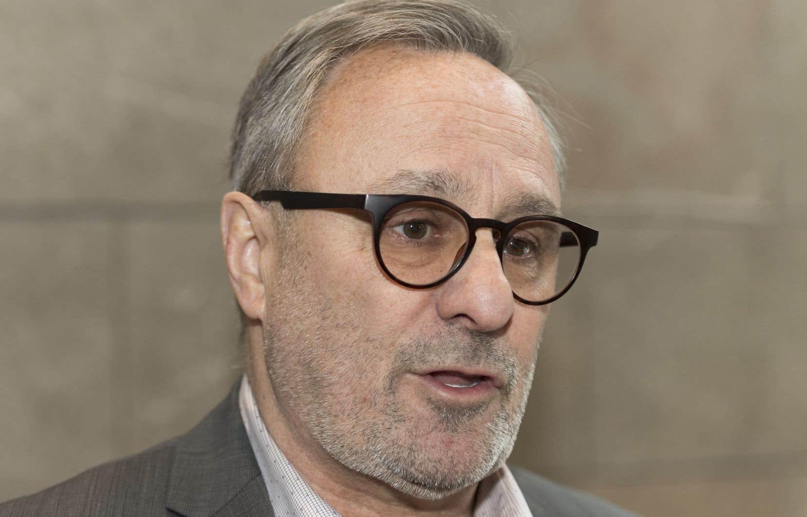 Le président de la FTQ, Daniel Boyer