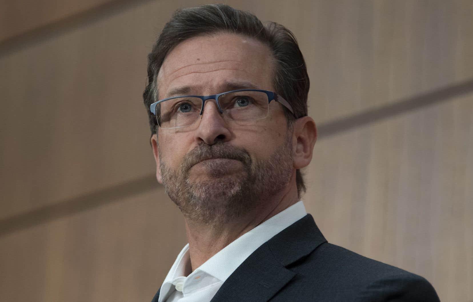 Le chef bloquiste, Yves-François Blanchet, demande au premier ministre Justin Trudeau de respecter sa parole.