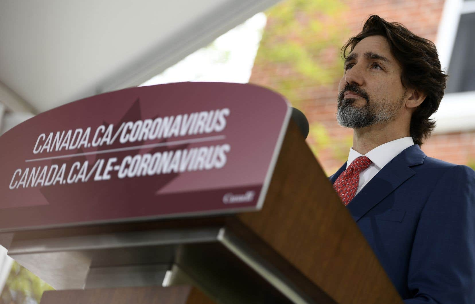 Le premier ministre fédéral Justin Trudeau fait le point sur la pandémie de coronavirus.