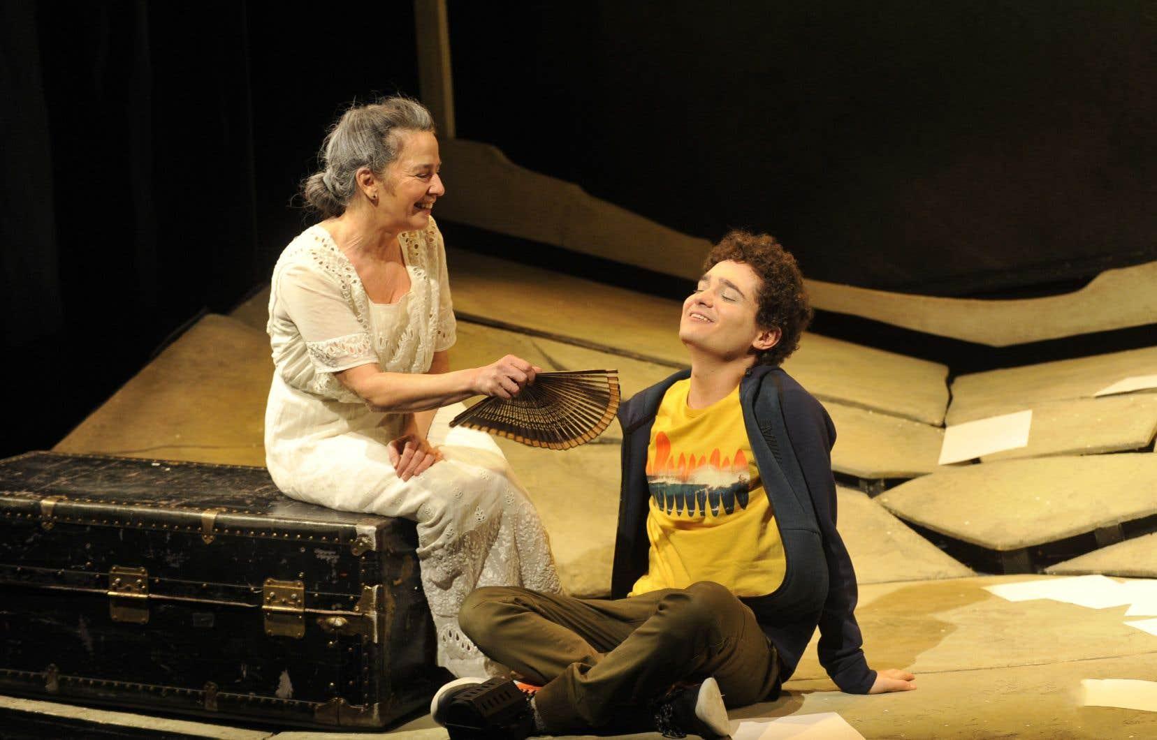 Représentation de la pièce de théâtre <em>Conte du Soleil</em>