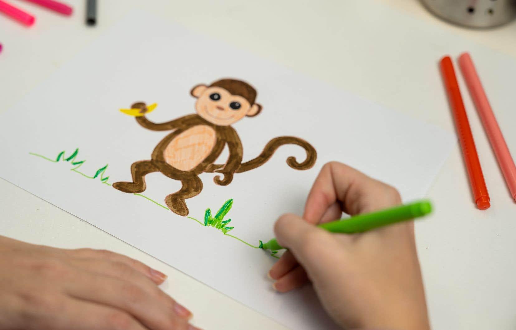 Toi, est-ce que ça t'arrive aussi d'avoir un singe dans la tête, quand tu te fais du souci?