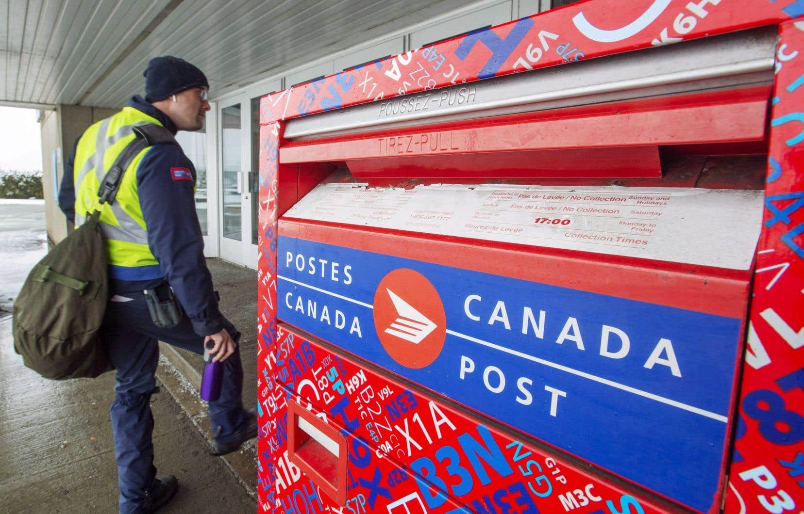 Dans l'ensemble, les revenus de Postes Canada ont atteint 6,75 milliards en 2019, en légère hausse par rapport à 2018.