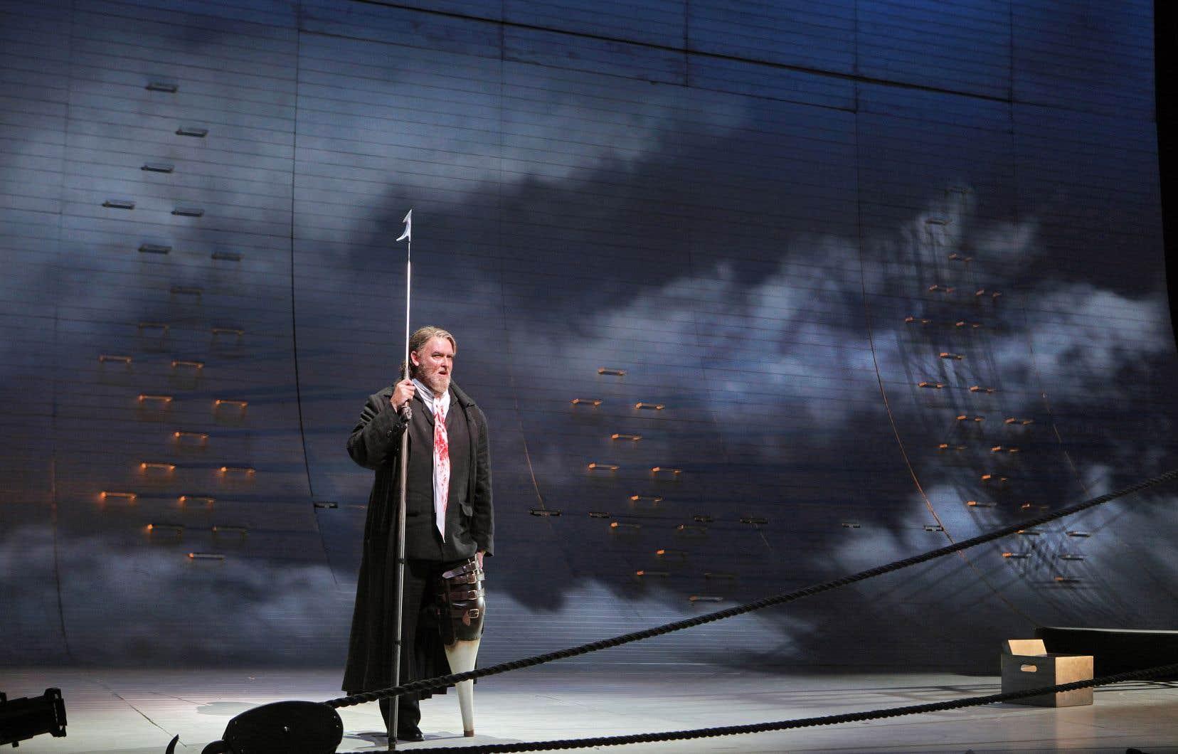 Scène de l'opéra «Moby Dick»