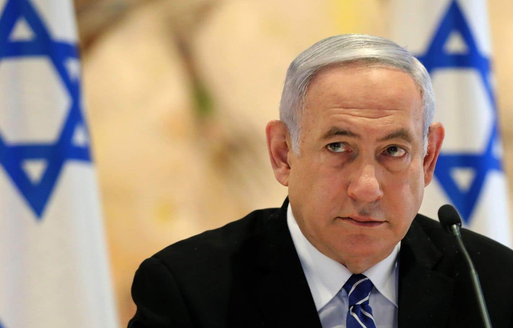 Le premier ministre israélien Benjamin Nétanyahouest inculpé dans trois affaires différentes.