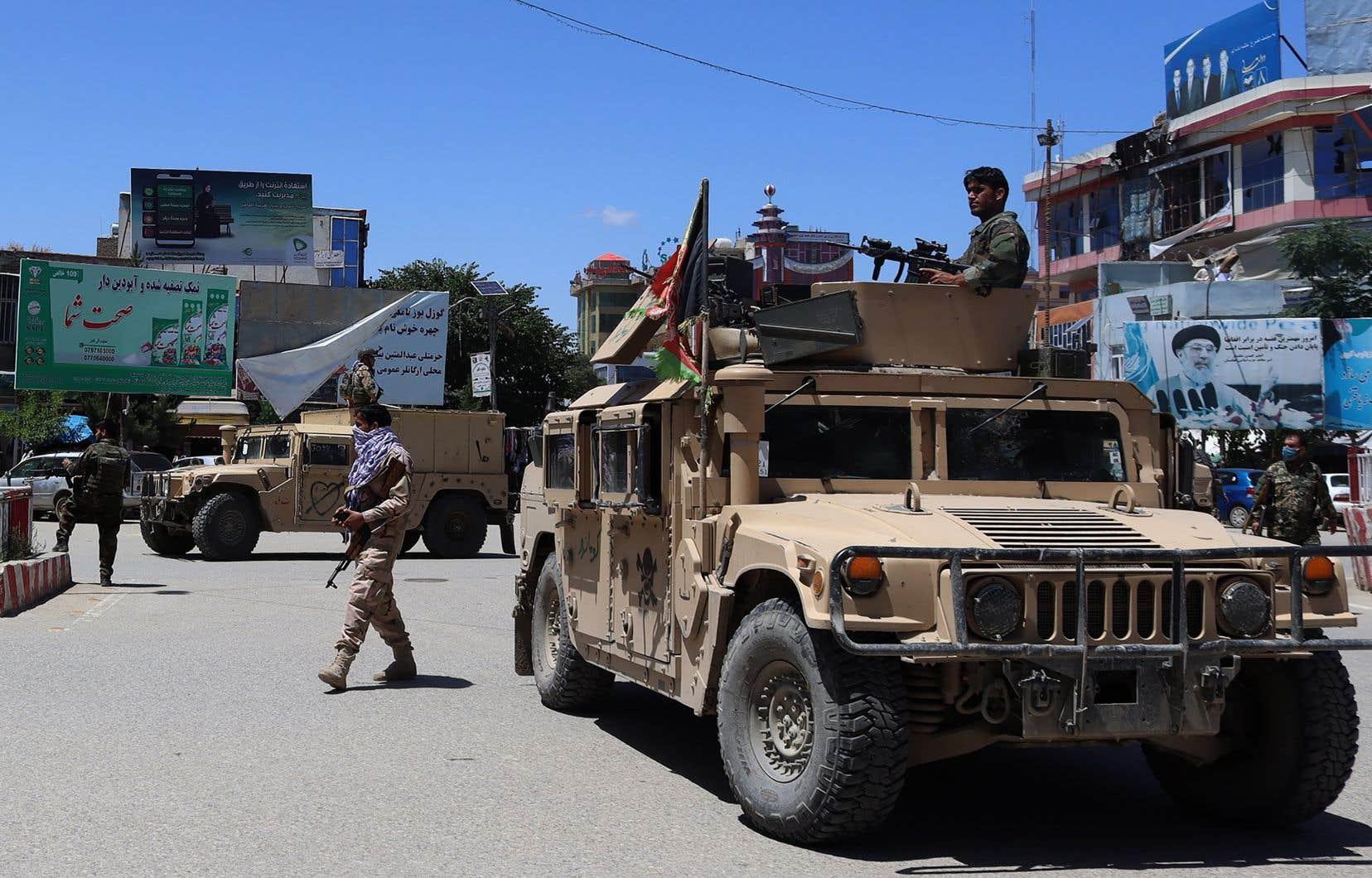 Les talibans ont multiplié les assauts meurtriers contre les forces afghanes ces dernières semaines.