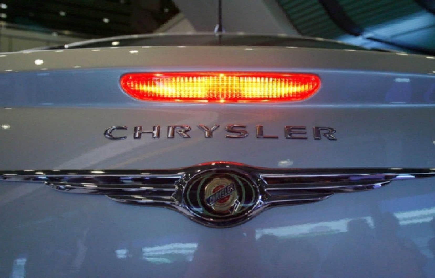 L'heure du grand ménage a sonné pour plusieurs modèles de Chrysler.<br />