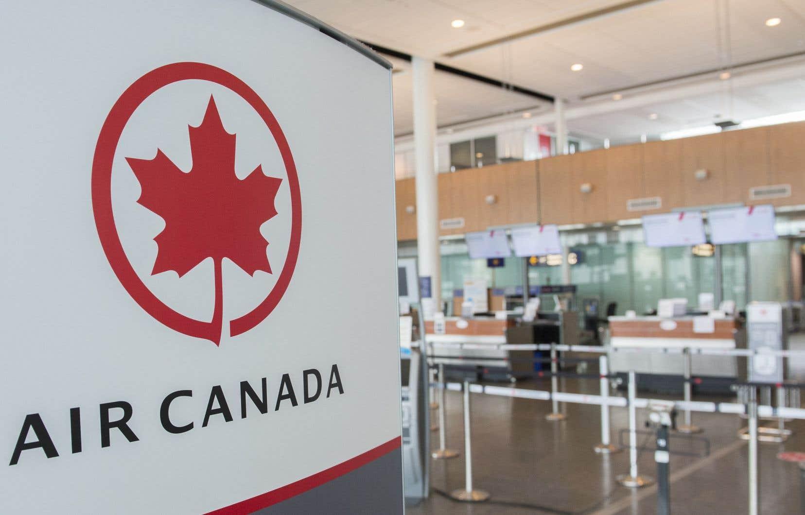 Les principaux transporteurs canadiens ont transporté 44,1% moins de passagers qu'en mars 2019.