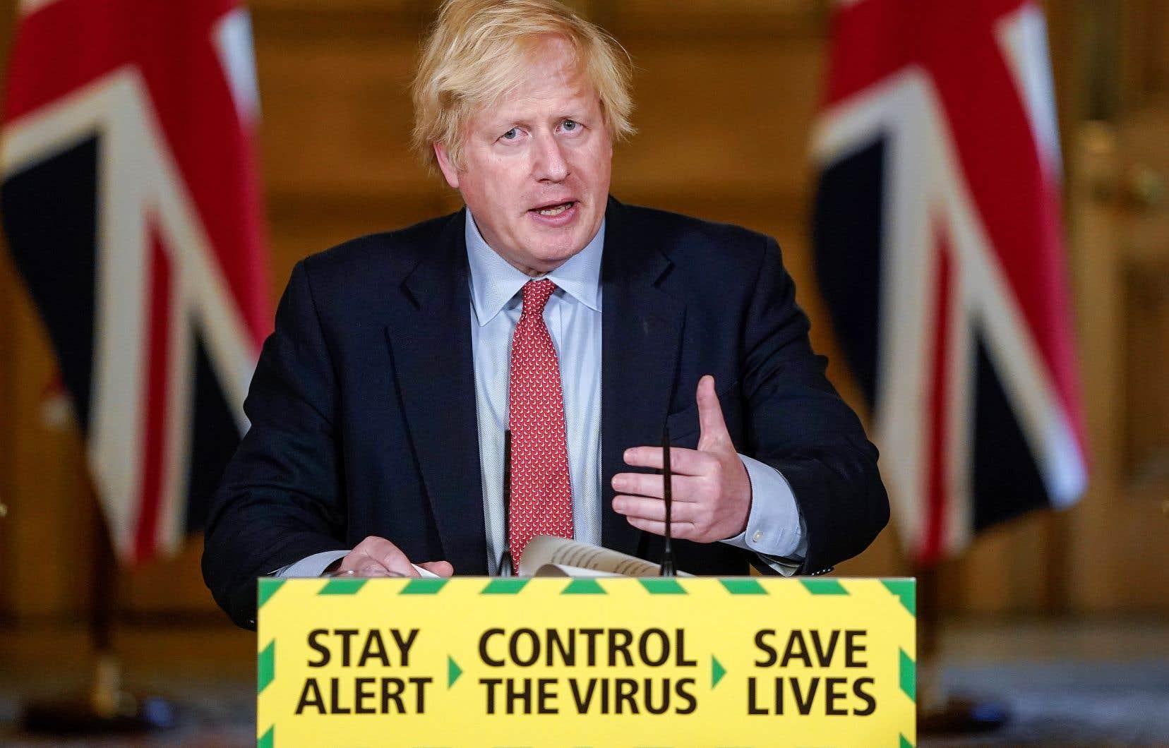 Le Royaume-Uni prévoit de rouvrir les commerces non essentiels le 15juin, a annoncé le premier ministre britannique, Boris Johnson.