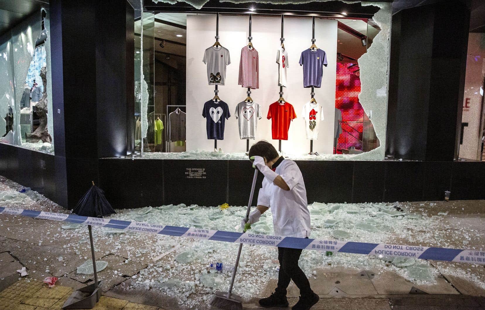 L'annonce du projet de loi de Pékin a provoqué une manifestation monstre à Hong Kong, dimanche.