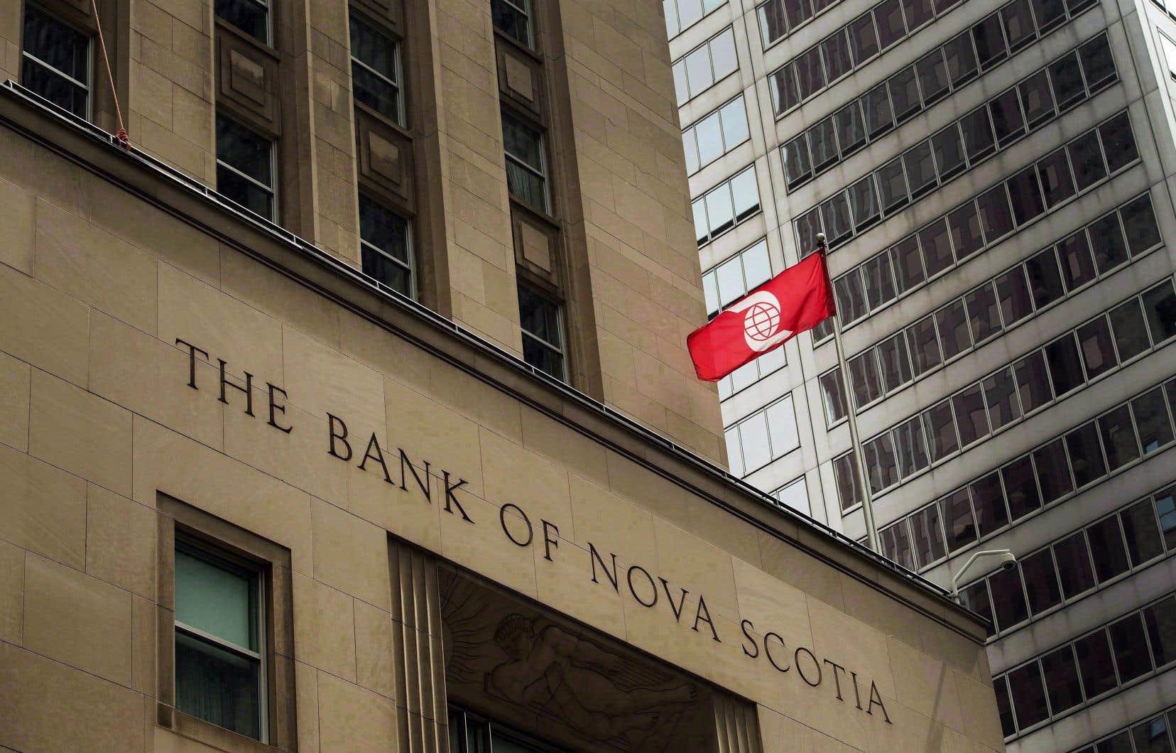 Le profit de la Scotia pour le trimestre clos le 30avril a atteint 1$ par action, ce qui se compare à un bénéfice de près de 2,26milliards.
