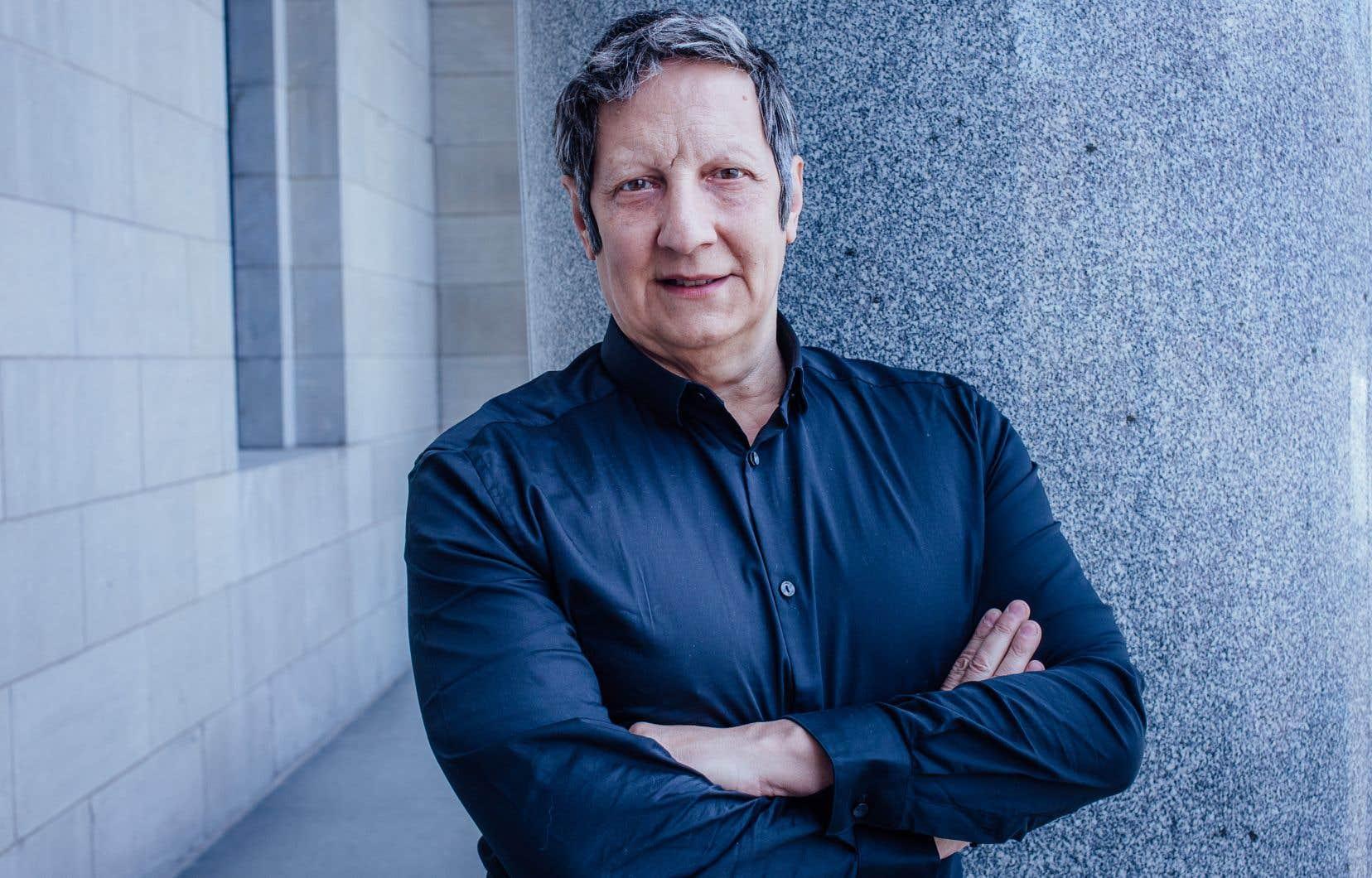 Robert Lepage, metteur en scène, scénographe, auteur dramatique, acteur et cinéaste québécois