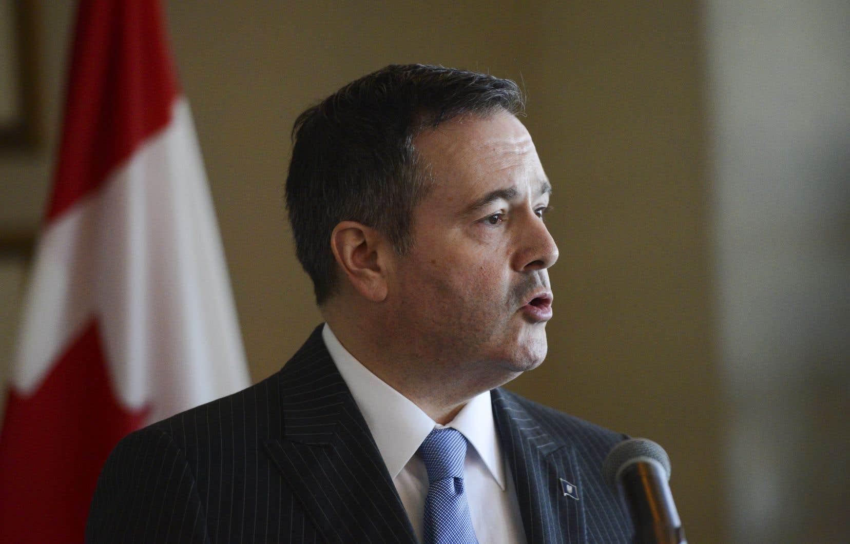 Le premier ministre de l'Alberta, Jason Kenney