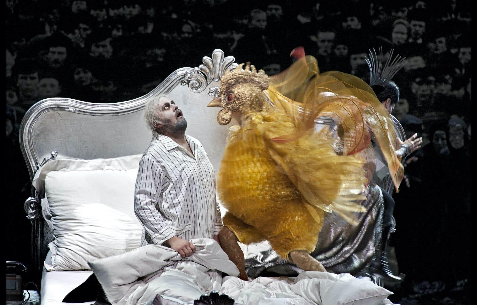 Scène tirée de la pièce «Le Coq d'or»