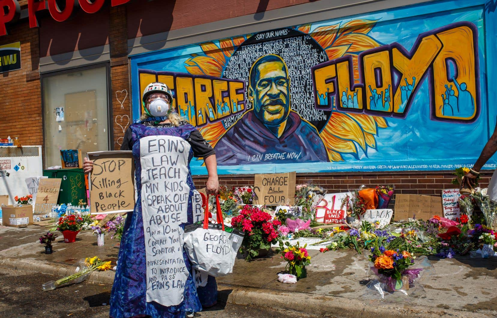 La colère ressentie à la suite de la mort de George Floyd a continué samedi de se répandre dans plusieurs villes des États-Unis.