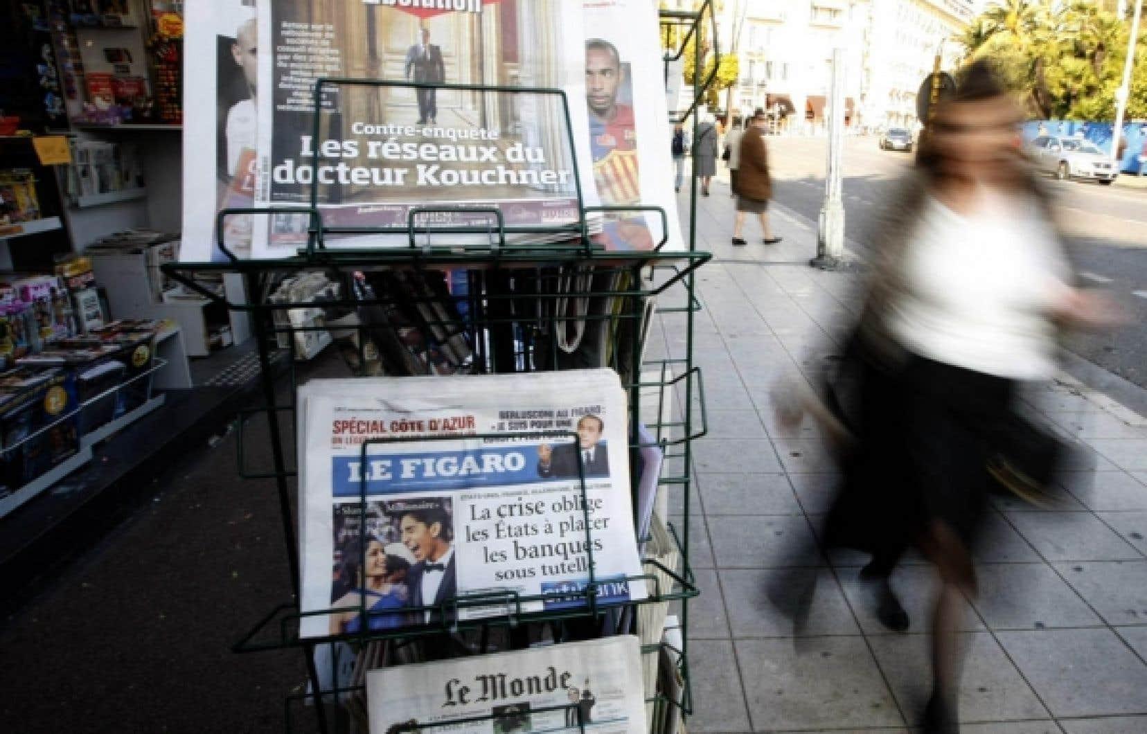 L'actualité étrangère en perte de vitesse dans les journaux français?