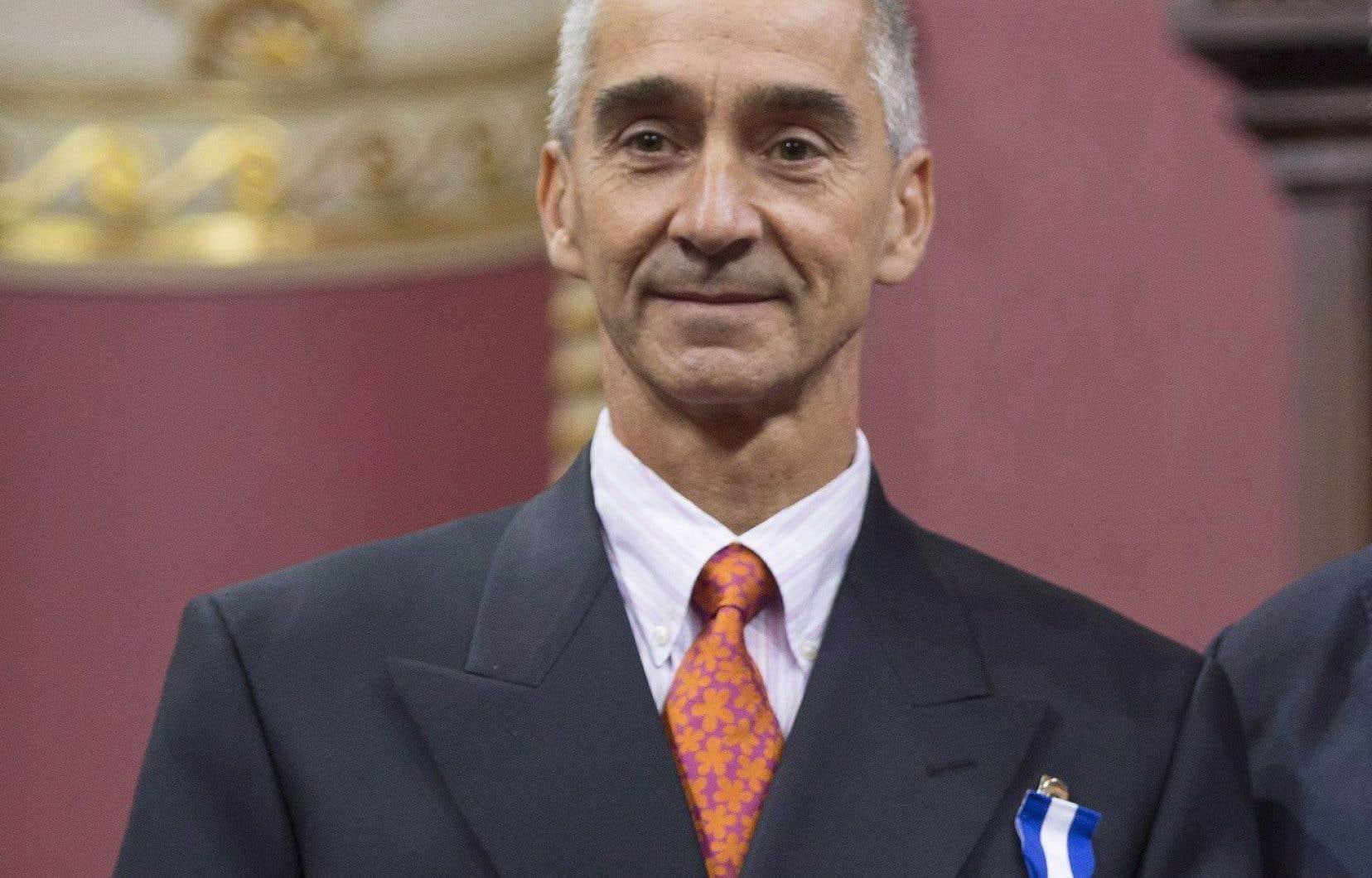 Patrick Pichette a reçu le titre deChevalier de l'Ordre national du Québec en 2015.
