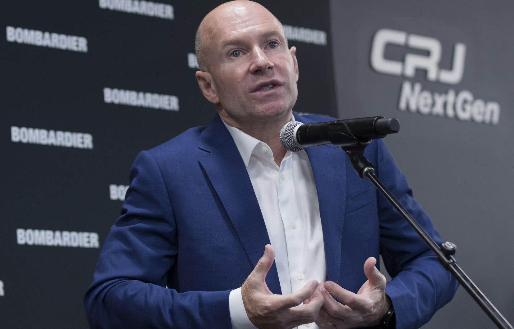 L'ex-patron de Bombardier, Alain Bellemare. L'une des principales agences de conseil aux actionnaires recommande à ceux-ci de voter contre l'approche de l'entreprise en matière de rémunération.
