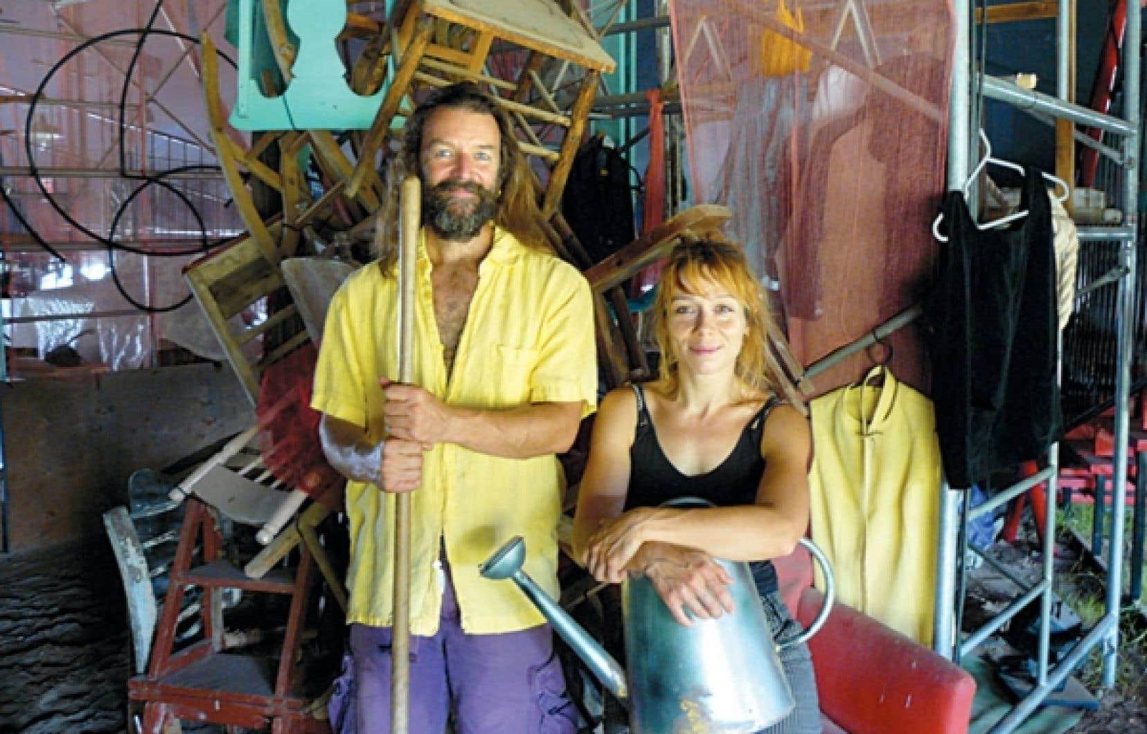 Avec La Centaurée, Alain Veilleux et Marie-Claude Bouillon entendent à la fois contribuer à la revitalisation de Notre-Dame-du-Rosaire et combler un manque dans la formation en cirque équestre.