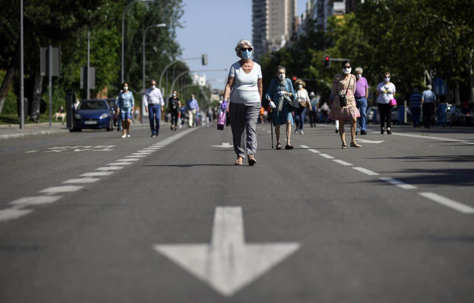L'Espagne applique un processus de déconfinement progressif qui devrait s'achever fin juin.