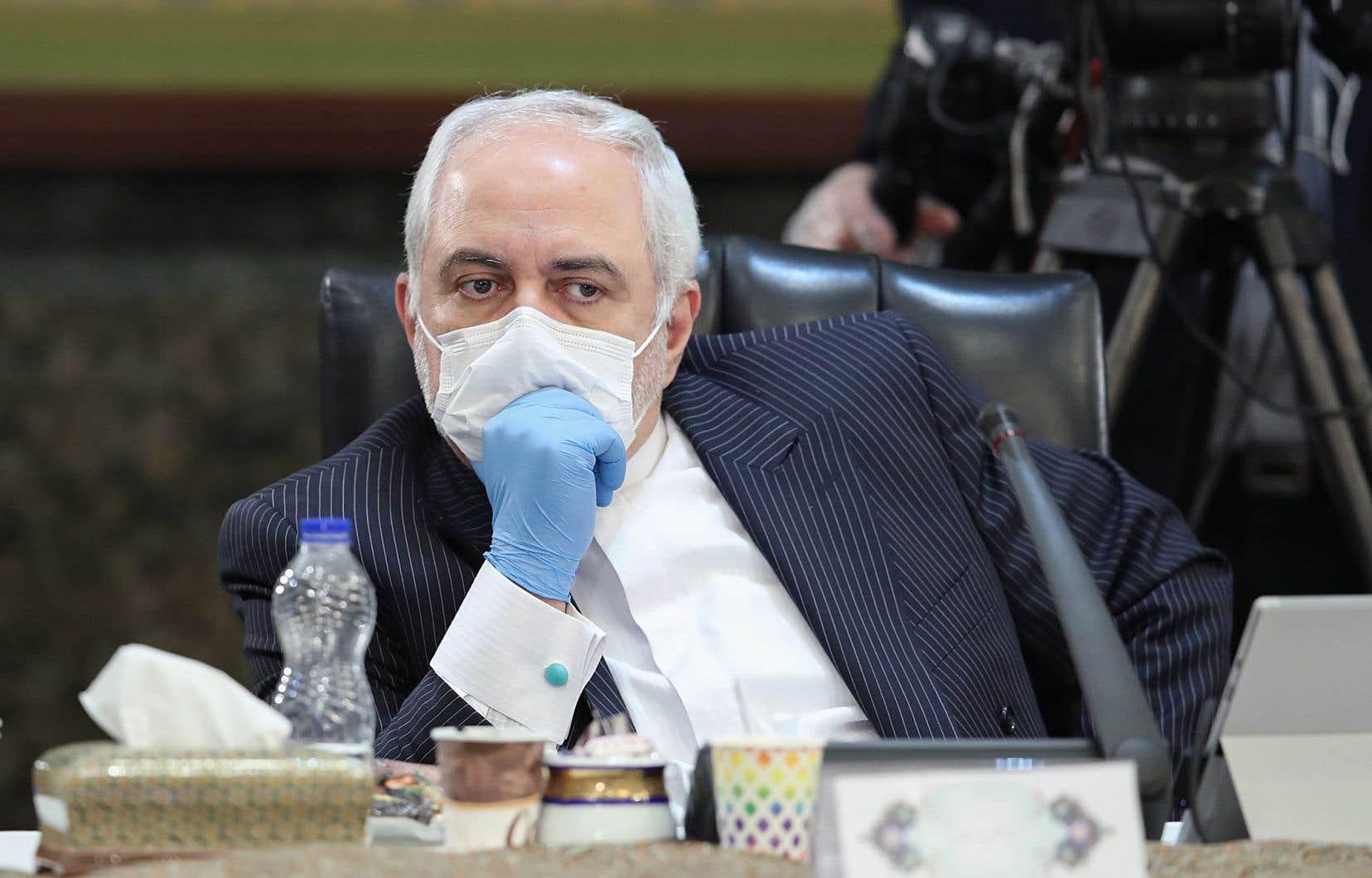 Le chef de la diplomatie iranienne, Mohammad Javad Zarif