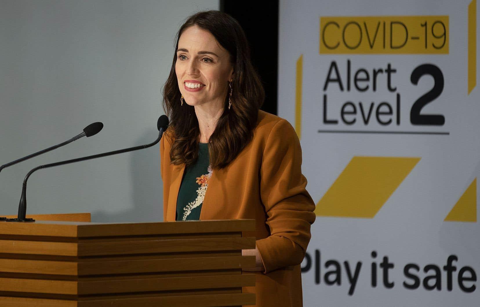 La première ministre néozélandaise, Jacinda Ardern