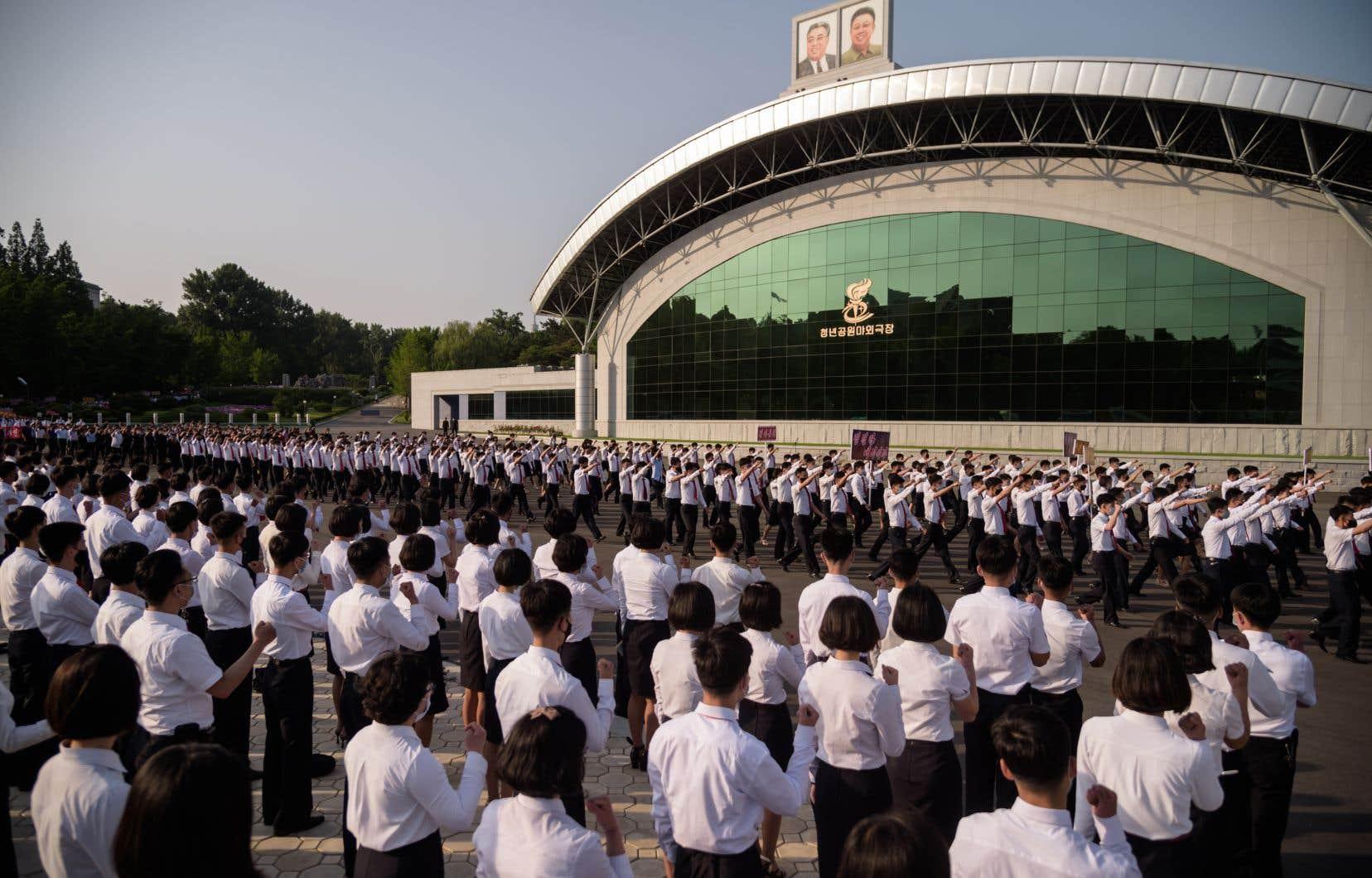 Les autorités nord-coréennes ont organisé des rassemblements de grande ampleur à travers le pays à l'appui de leurs menaces.