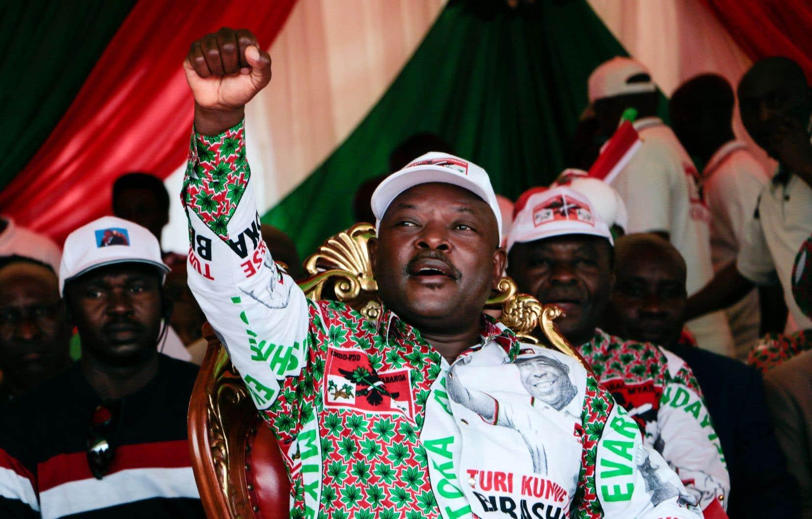 Pierre Nkurunziza était le président du Burundi depuis 2005.