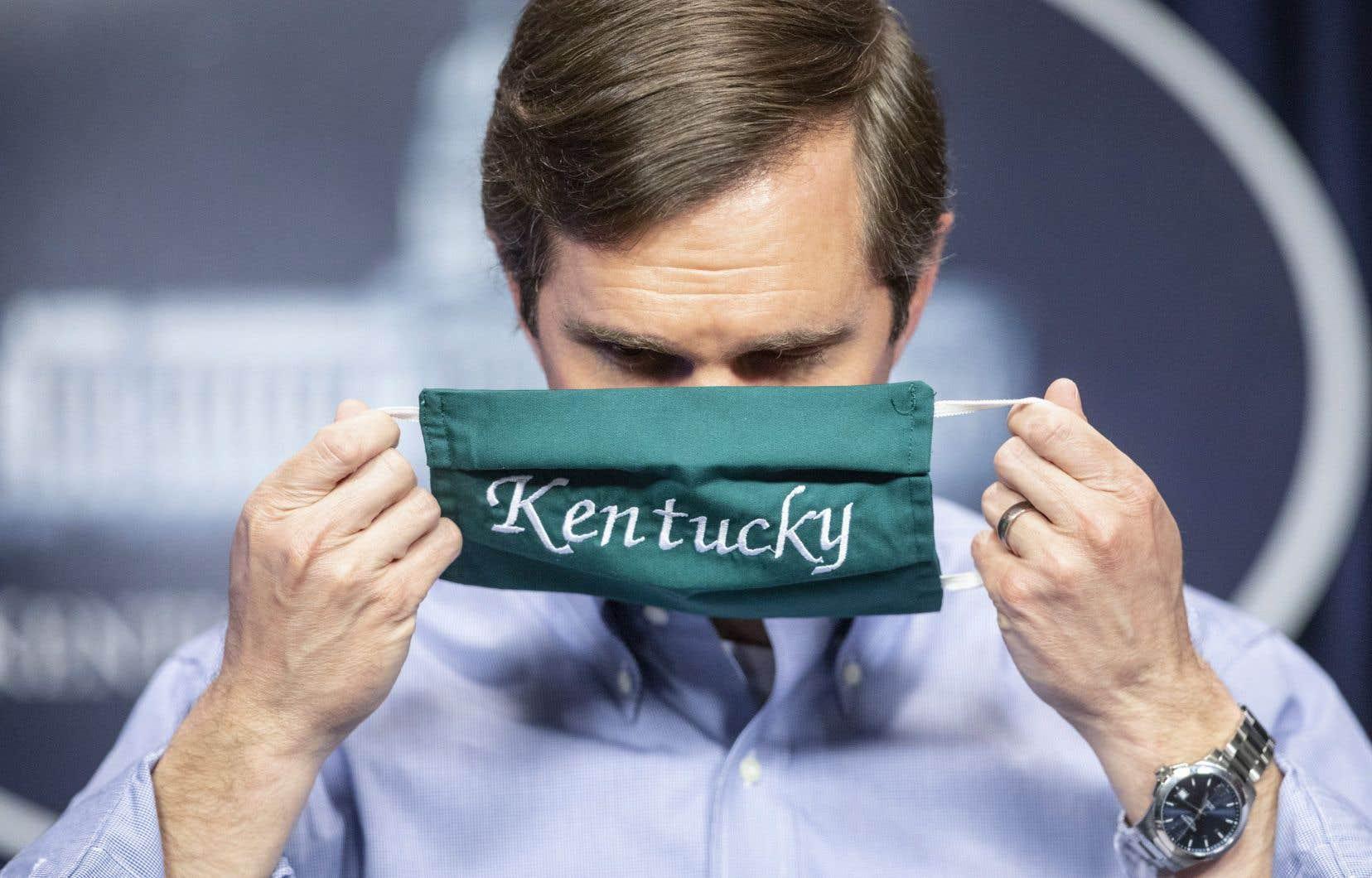 Le gouverneur de l'État du Kentucky, Andy Beshear