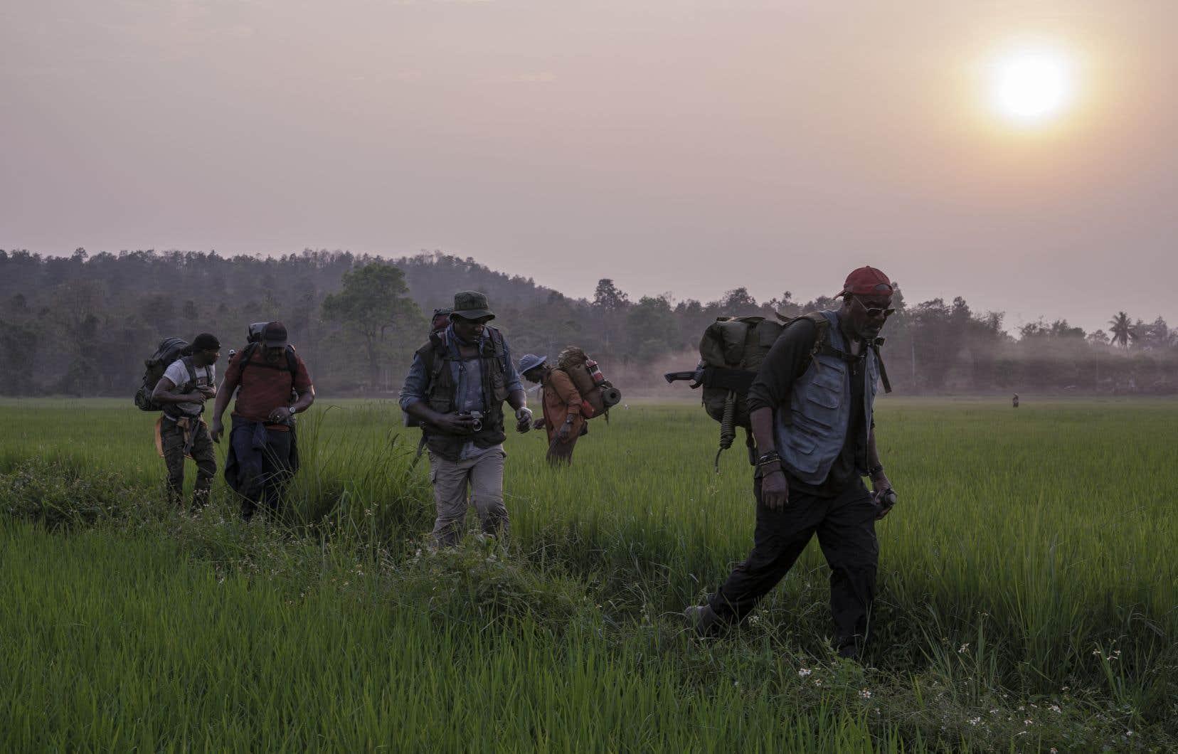 Charge antiracisme autant qu'anti-impérialisme, «Da 5 Bloods» dresse au passage un état des lieux troublant du Vietnam moderne.