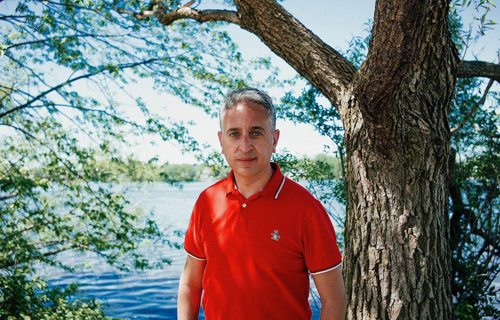 Frédéric Abergel, p.-d.g. du CIUSSS du Nord-de-l'Île-de-Montréal, dit que lui et ses collègues ont été pris de court par le virus.