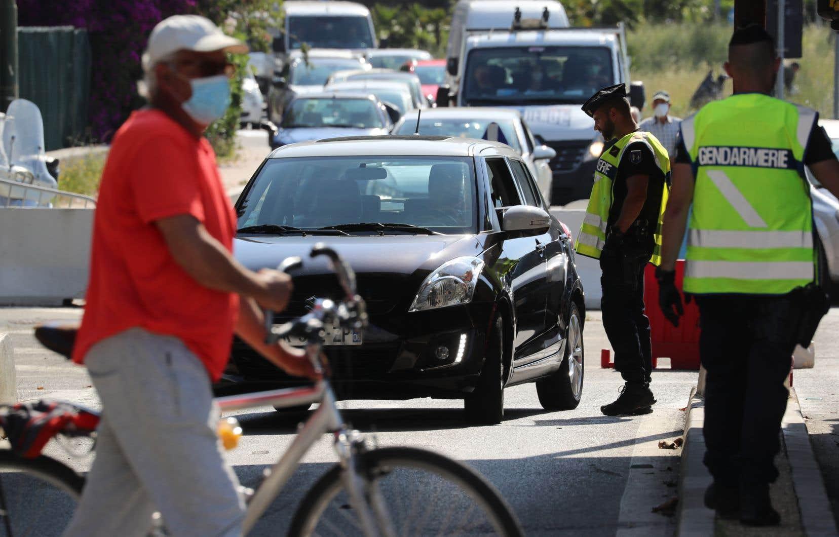 L'Italie a rouvert ses frontières la semaine dernière, notamment celle avec la France (sur la photo).