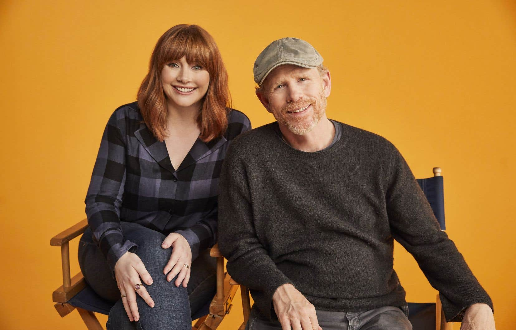 Bryce Dallas Howard et son père Ron Howard
