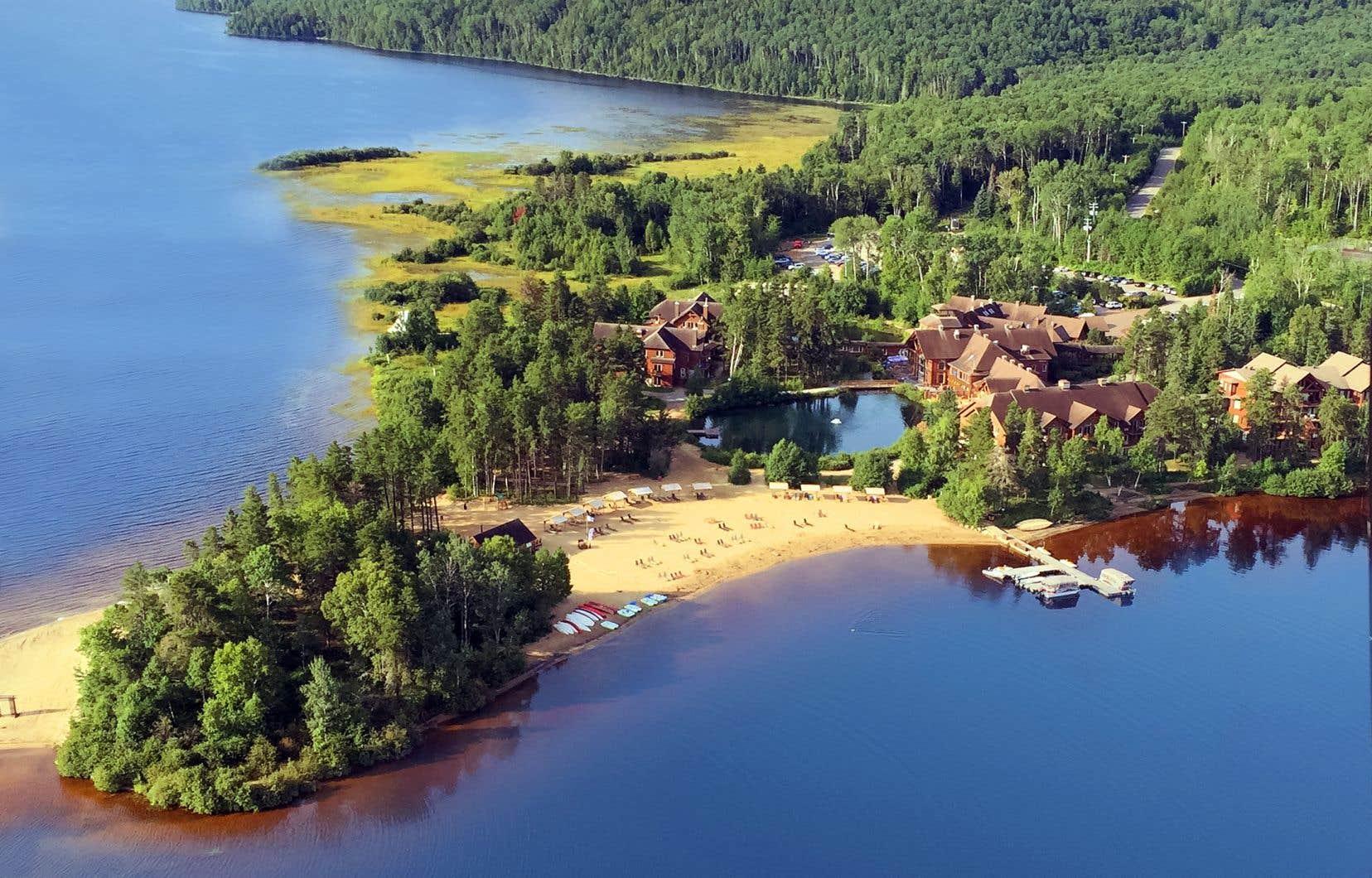 L'Auberge du lac Taureau, située dans Lanaudière, rouvrira ses portes le 17juillet.