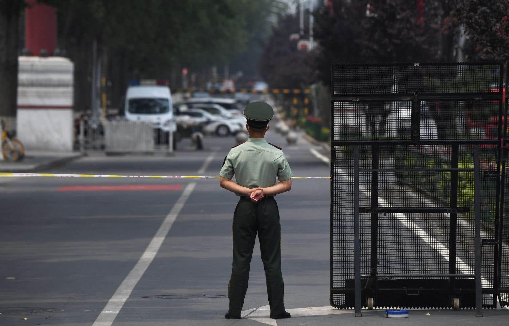 Le marché Xinfadi, dans le district de Fengtai, dans le sud de Pékin, a été fermé, après avoir été relié à la plupart des contaminations.