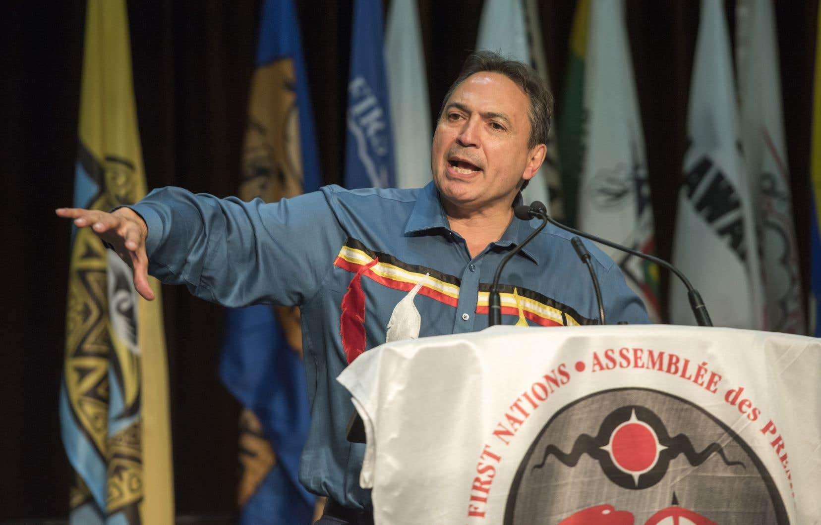 Perry Bellegarde a exprimé sa colère au sujet d'une série de confrontations violentes, parfois même fatales, entre la police et des membres des Premières Nations à travers le Canada.