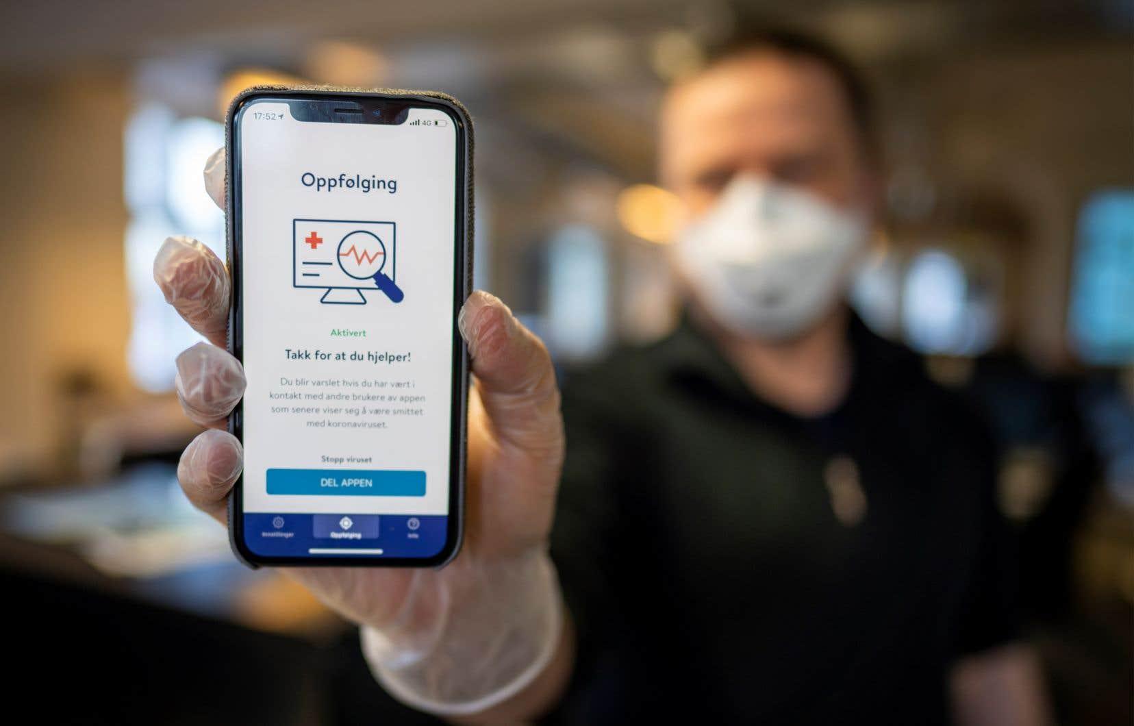 Les autorités sanitaires de la Norvège ont décidé de mettre fin à l'usage de leur application, baptisée Smittestopp (Stop à la contagion).