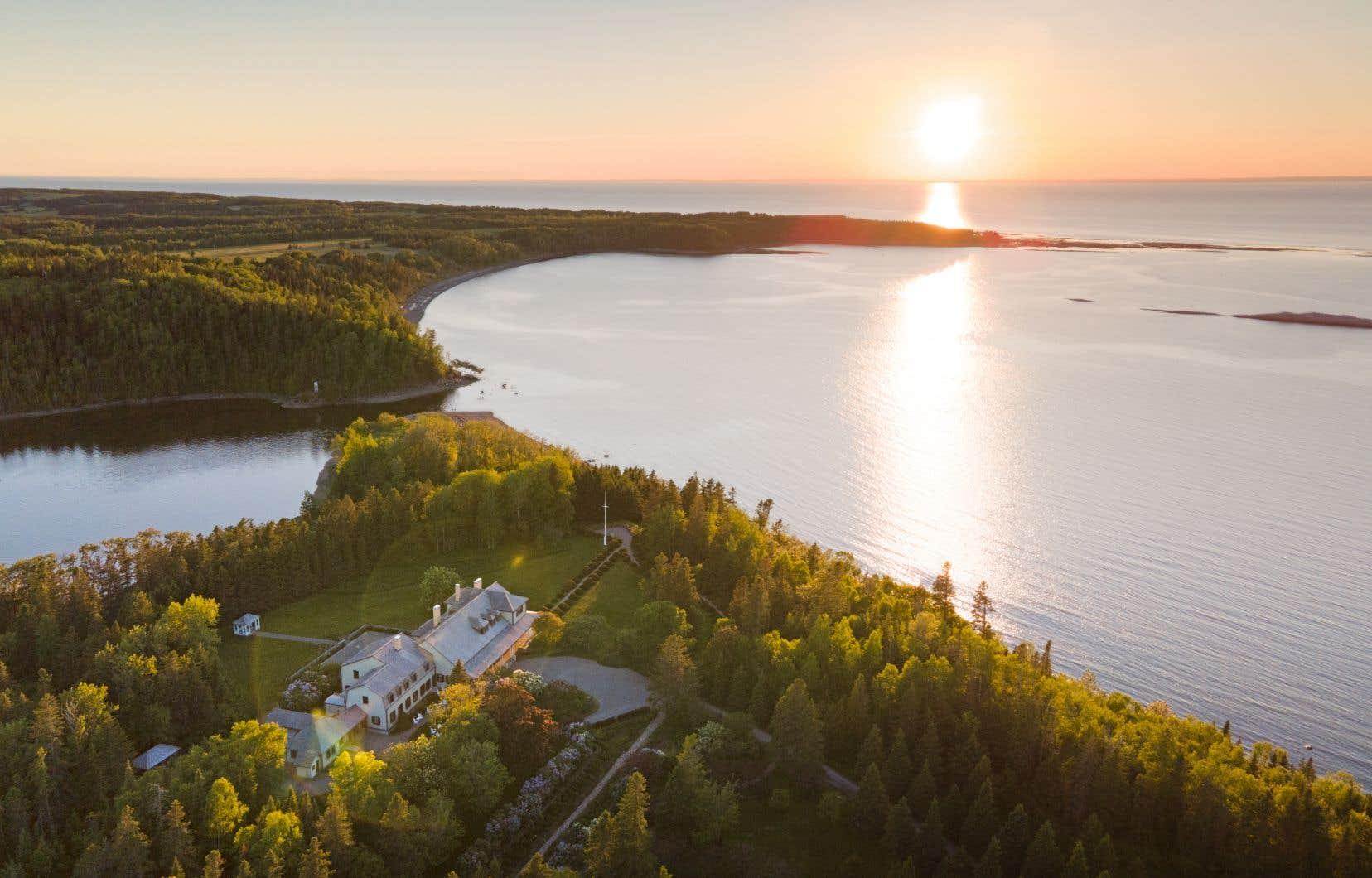 Les Jardin de Métis, dans la région du Bas-Saint-Laurent,  où s'arrêtera le village nomade hôtel UNIQ  du 9 au 20 septembre.
