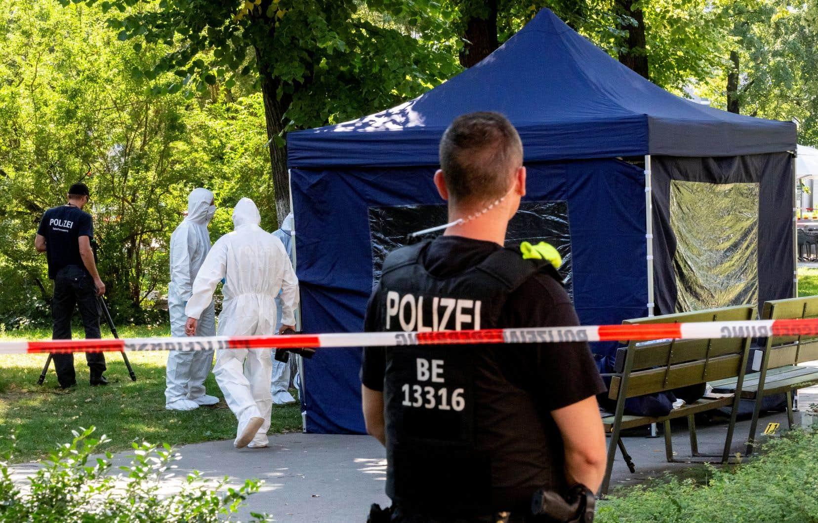 Tornike Kavtarashvilim, un Géorgien issu de la minorité tchétchène du pays, avait été tué de trois balles par une arme avec silencieux le 23août 2019, en plein jour dans ce parc du centre de Berlin.