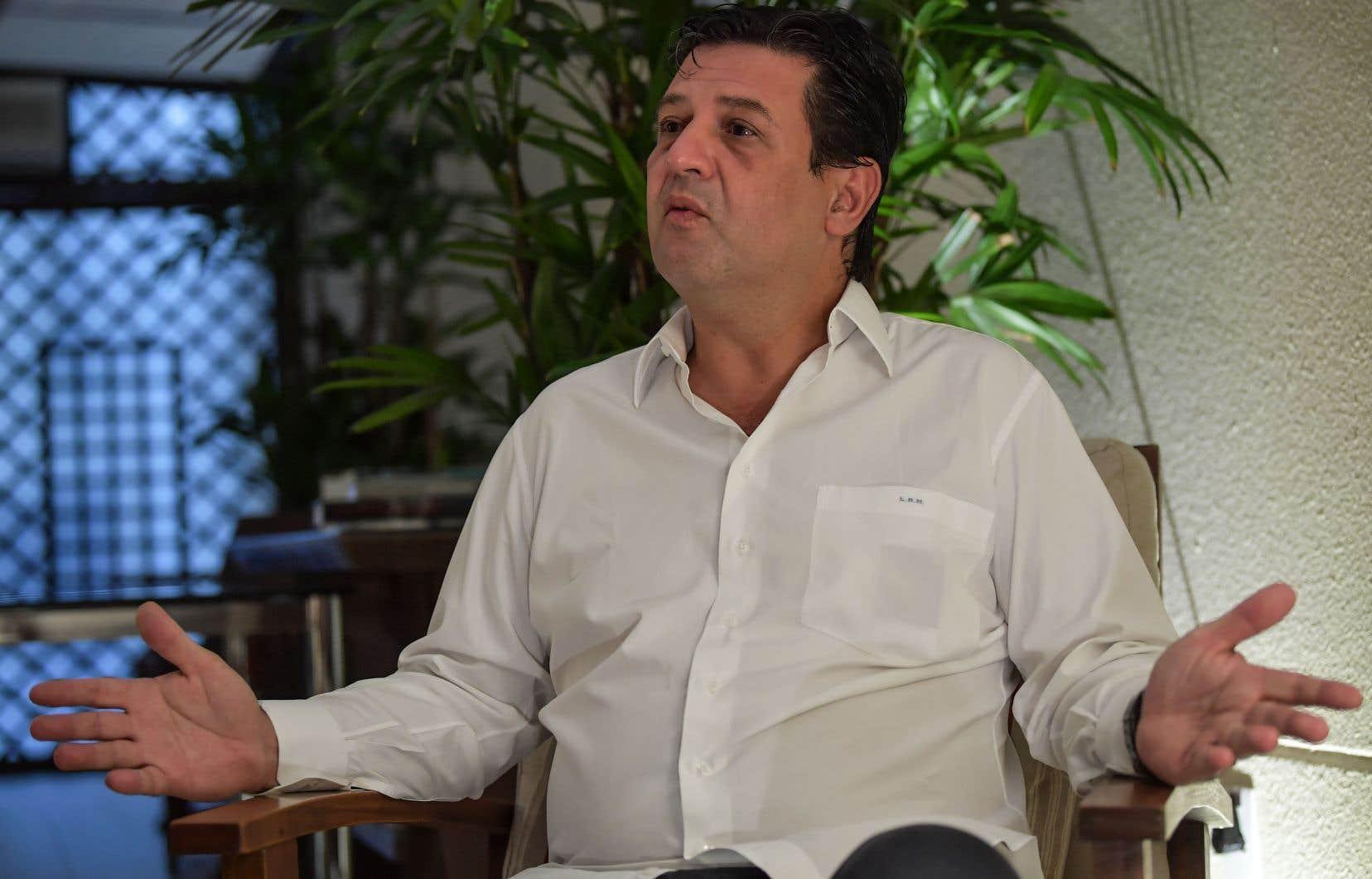 L'ex-ministre brésilien de la Santé Luiz Henrique Mandetta