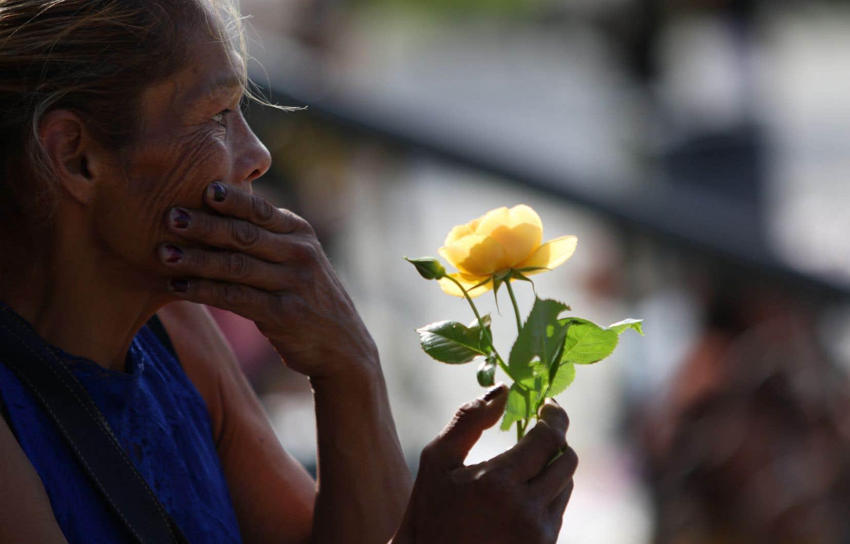 Un rassemblement de guérison avait lieu jeudi en Colombie-Britannique en l'honneur de Chantel Moore, morte aux mains de policiers au Nouveau-Brunswick.