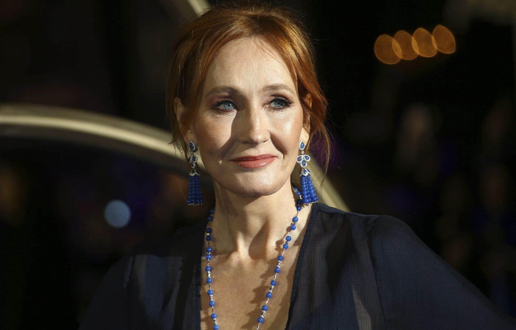 L'écrivaine J. K. Rowling