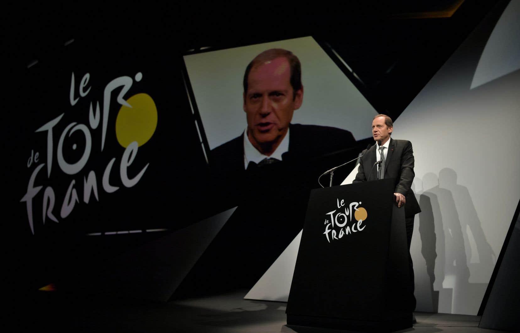 Le directeur du Tour de France, Christian Prudhomme