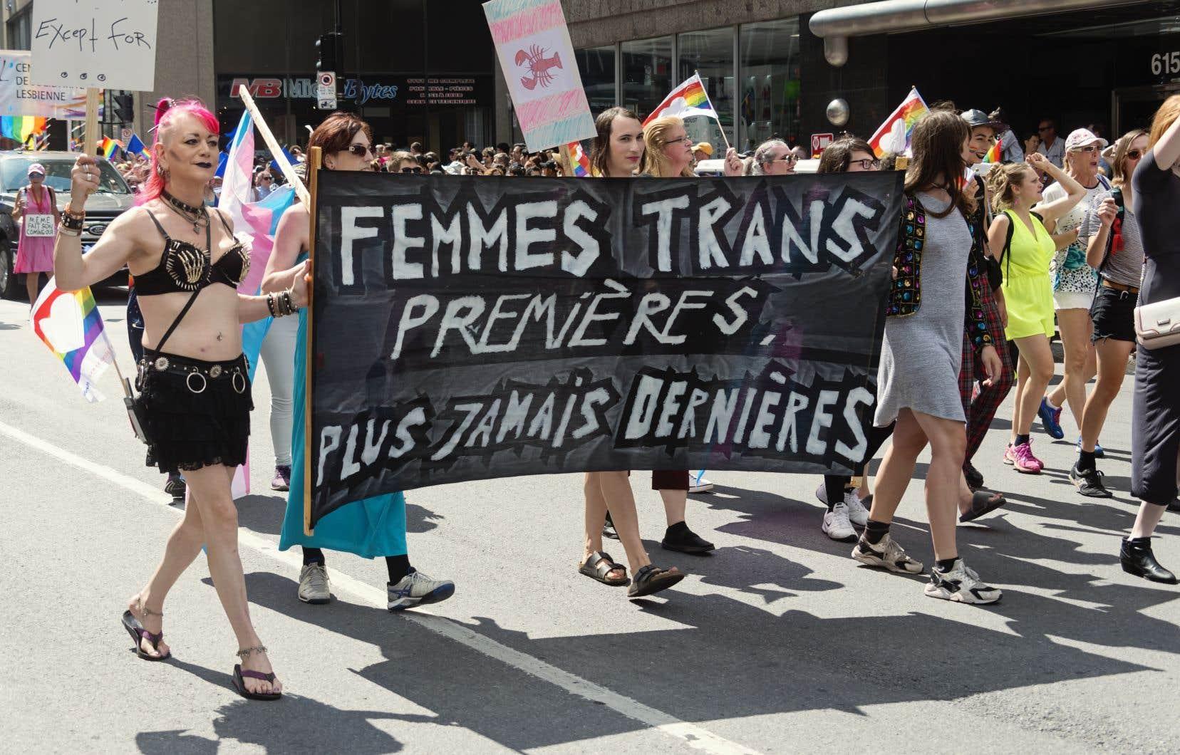 «Les femmes trans défendent les droits des femmes, qu'elles aient eu recours aux opérations (...) ou non», affirme l'auteur.