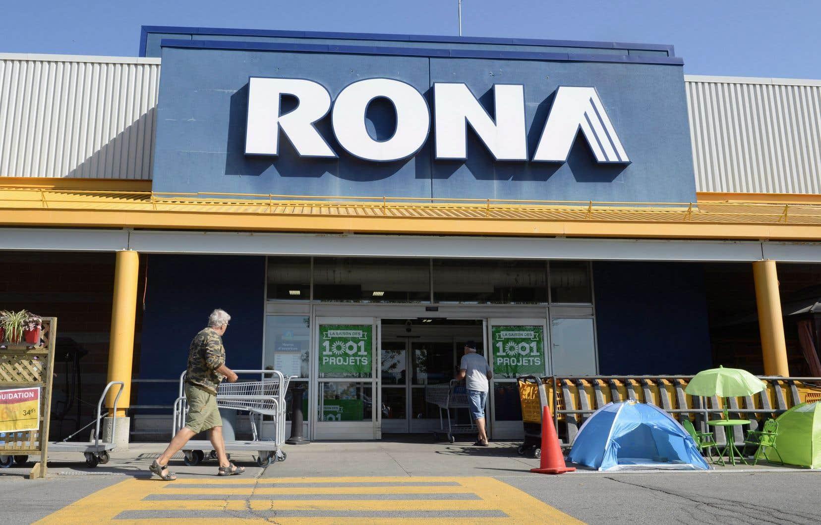 Les milliers de salariés concernés travaillent dans les magasins Rona, Réno-Dépôt, Lowe's, les centres d'appels, ainsi que dans les établissements de la chaîne d'approvisionnement de Lowe's, a précisé le géant de la quincaillerie et de la rénovation.