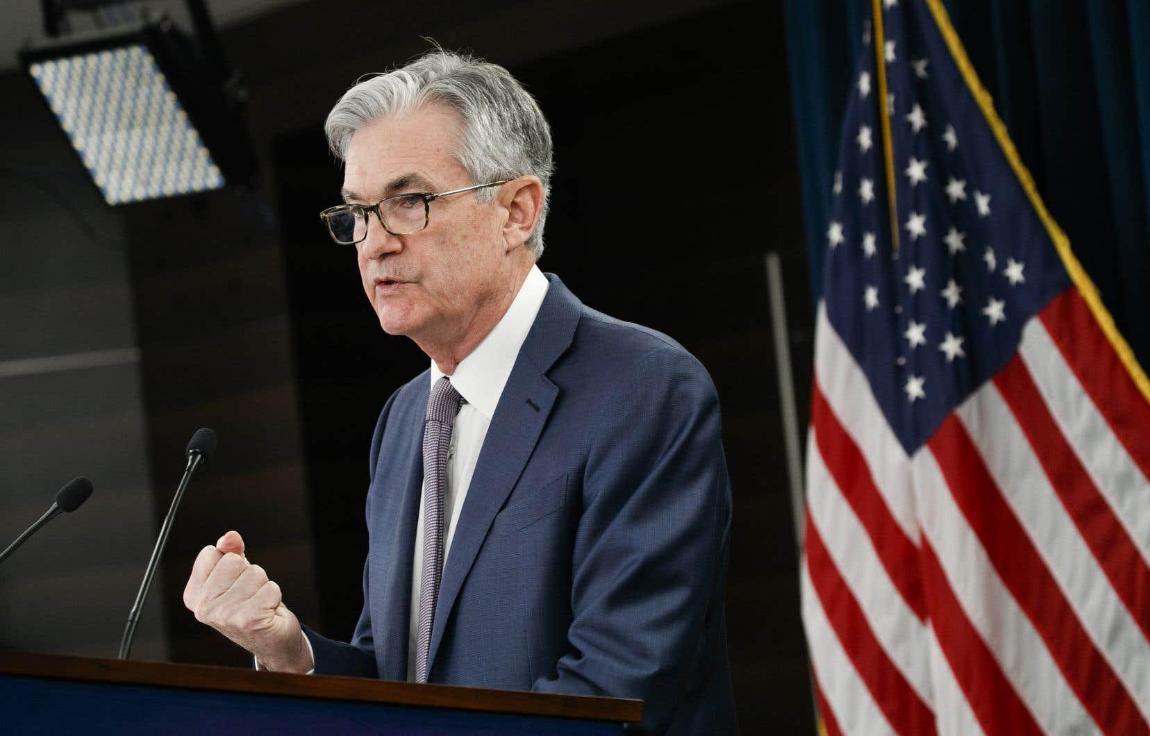 Le président de la Banque centrale américaine, Jerome Powell