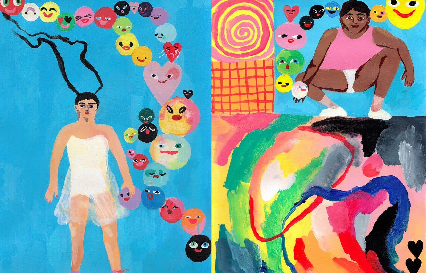 «Sans réconciliation, il n'y aurait aucune sorte de relation à long terme», estime l'artiste Lina Ehrentraut, née en 1993 à Neuss, en Allemagne.