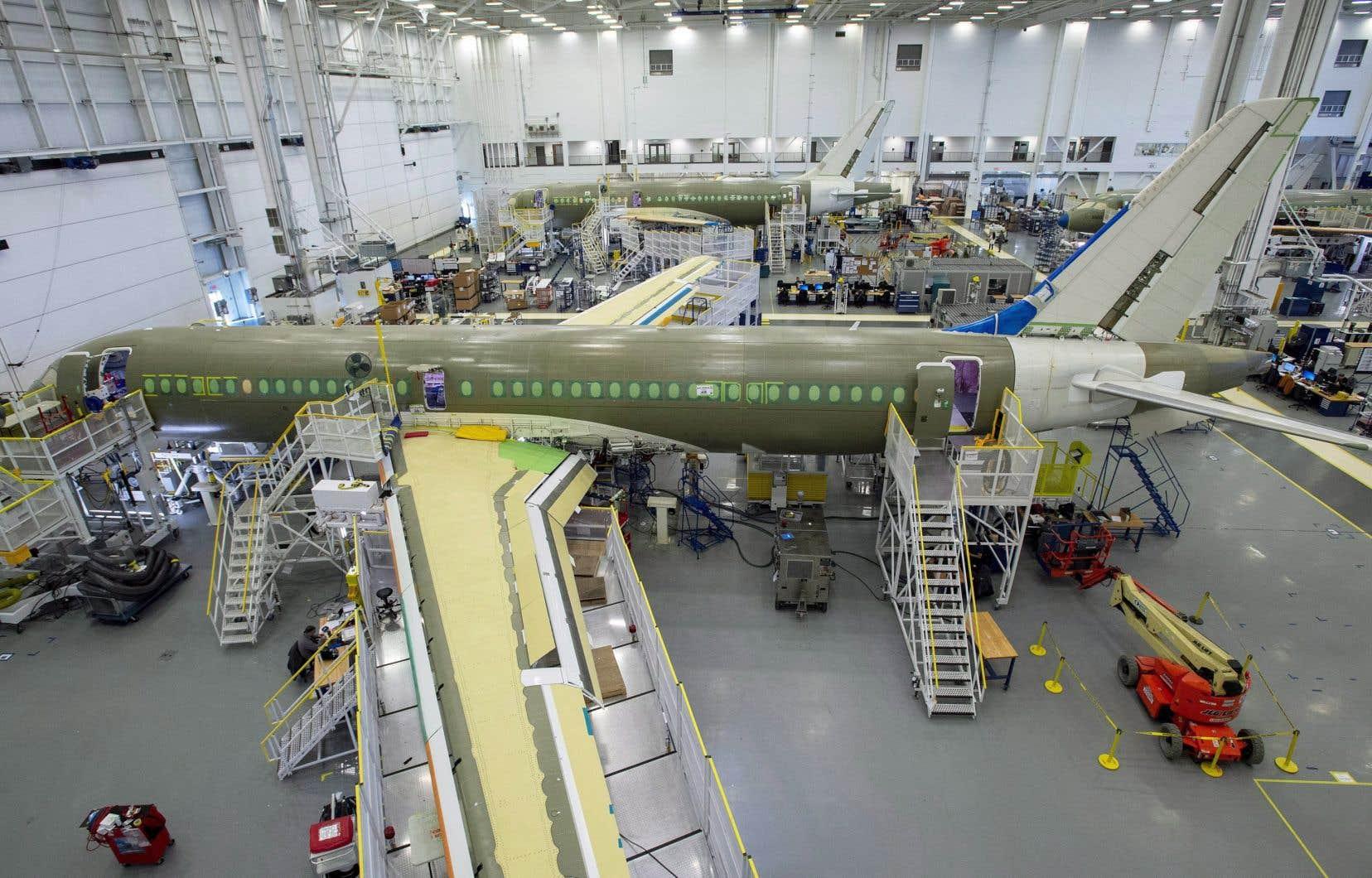 L'installation d'Airbus à Mirabel (en photo) ne sera toutefois pas touchée par cette nouvelle vague de mises à pied.
