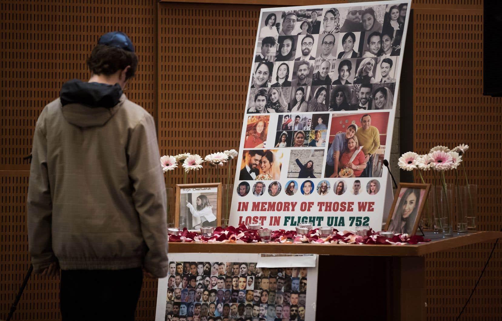 Les 176 victimes étaient principalement des Irano-Canadiens.