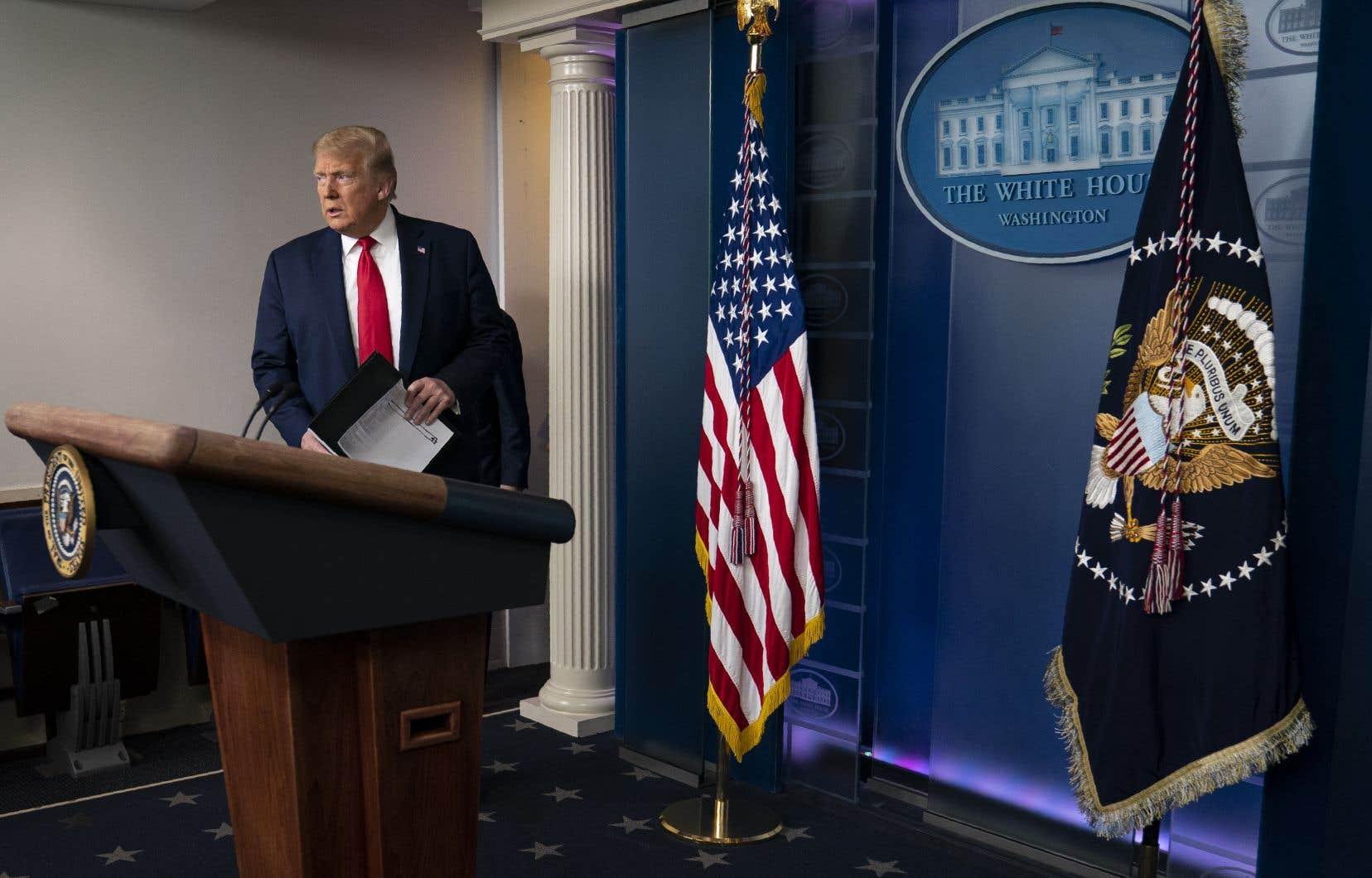 Le recours de Donald Trump pour empêcher le Congrès d'accéder à des parties confidentielles du rapport d'enquête du procureur Mueller a été accepté.